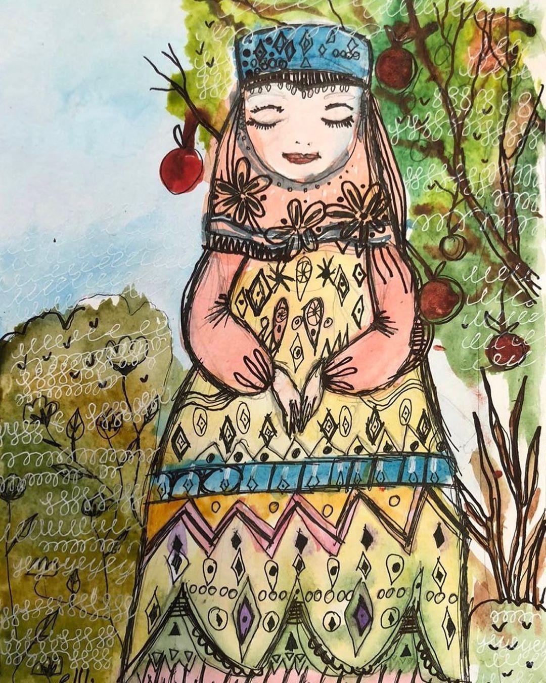 Рисуют дети семи лет с Серафимой Александровной Латыповой