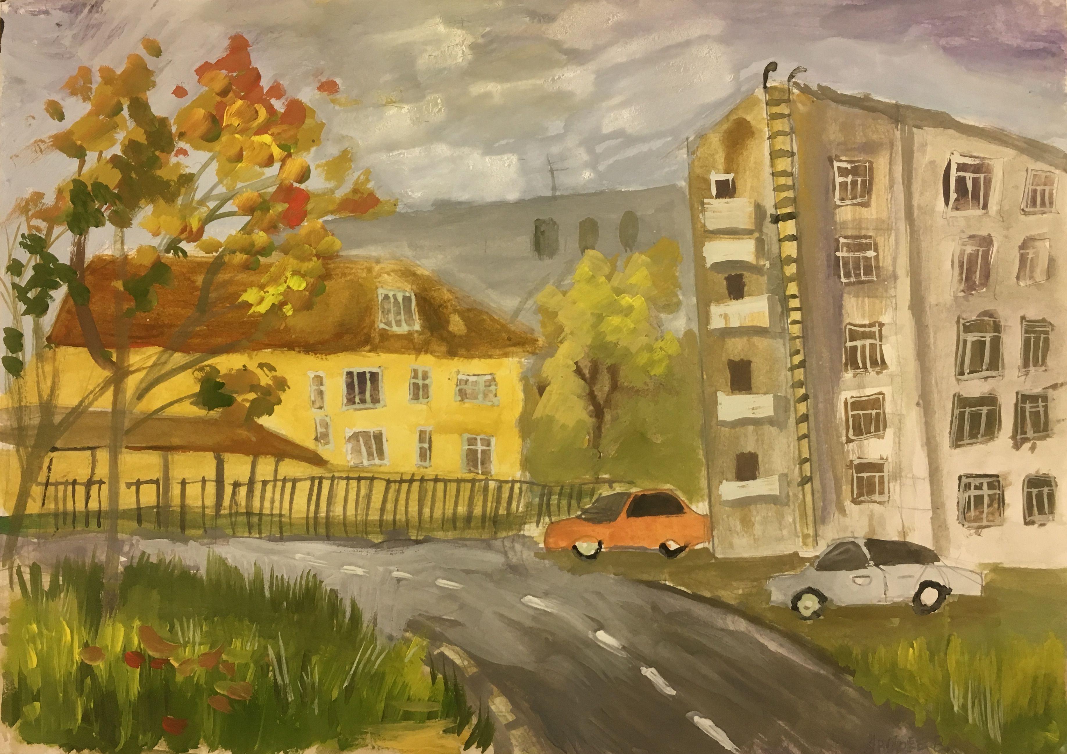 """""""Мой новый дом"""", Андреев Егор (11 лет)"""