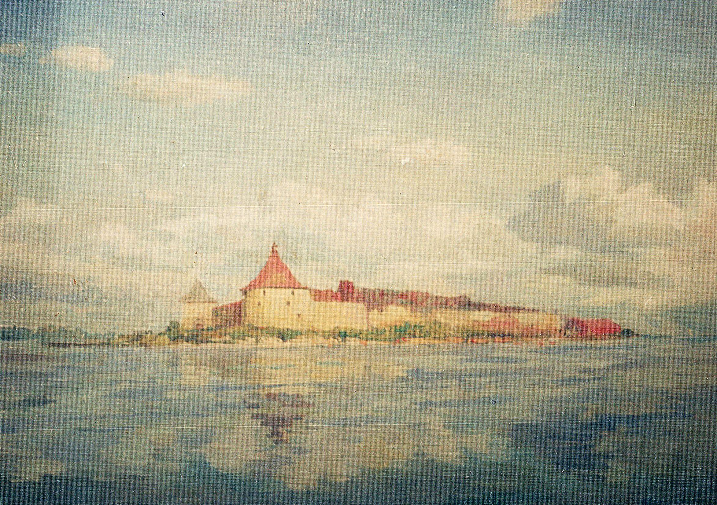 """""""Крепость Орешек"""", В. А. Саржин, 2002 год"""